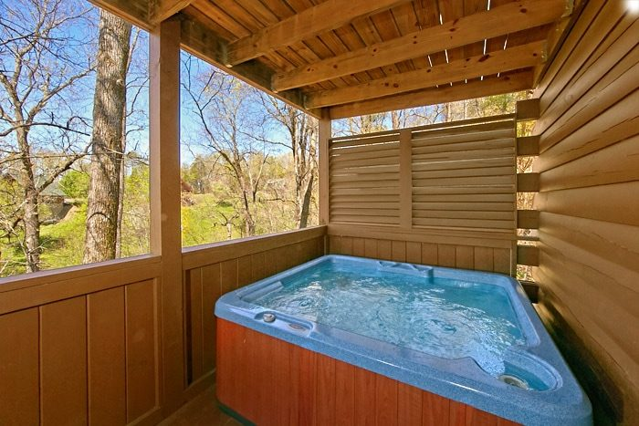 Luxury 2 Bedroom Cabin with Private Hot Tub - Southern Comfort