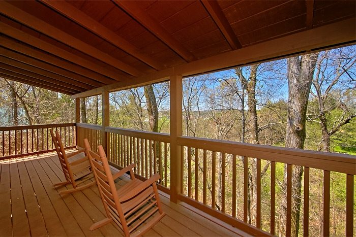 Cabin with Wooded View and Rocking Chairs - Southern Comfort