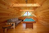 Cabin with Lofted Billiard Room