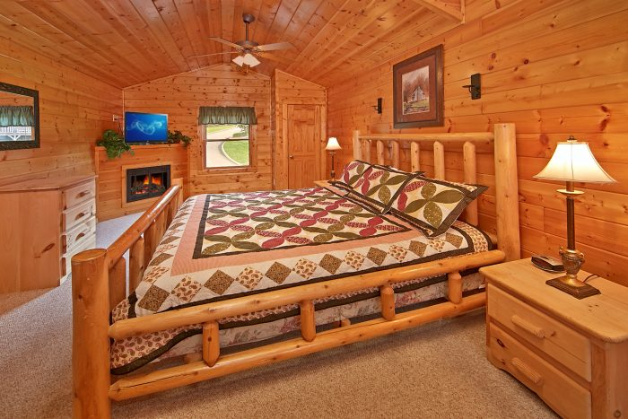 Rustic 2 Bedroom Cabin with 2 King Bedrooms - Sparkling Dreams