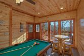 Luxury Cabin with Private Indoor Pool Sleeps 17