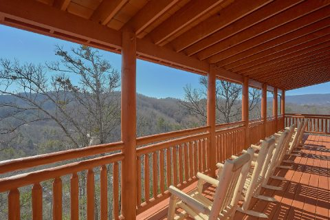Smoky Mountain Cabin with Great Mountain View - Splashin On Smoky Ridge