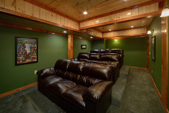 Smoky Mountain Cabin with a Media Room - Splashin' With A View