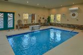 Private, heated pool in 4 bedroom luxury cabin