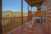 4 bedroom cabin with hot tub and private pool