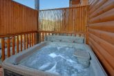 4 bedroom luxury cabin with hot tub and pool