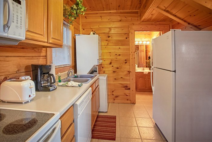 Honeymoon cabin with full kitchen - Stairway To Heaven