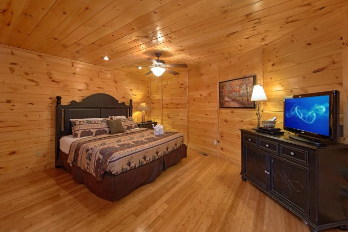 Premium Cabin with 2 King Suites and Jacuzzi Tub - Star Gazer