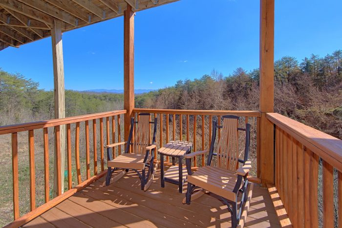 Premium Cabin with Mountain View from Deck - Star Gazer