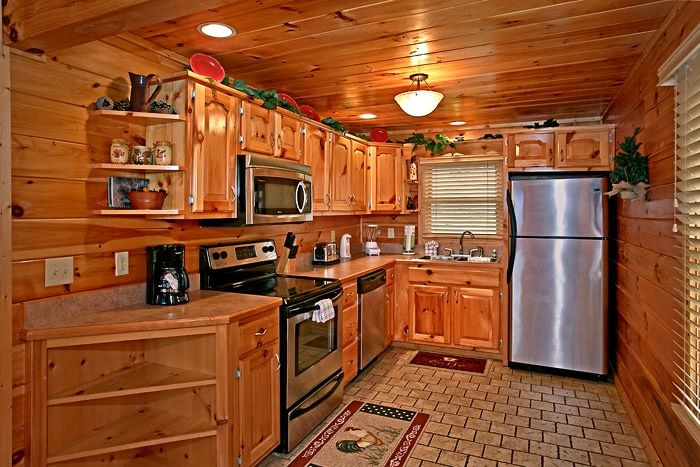 Kitchen with Stainless Steel Appliances - Sugar and Spice