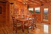 Dining Room Table with Mountian Views