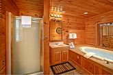 Bathroom with Shower and Jacuzzi Tub