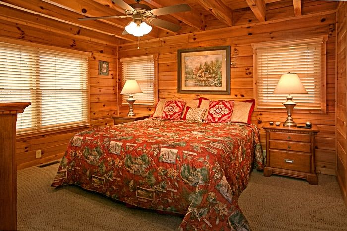 King Size Bedroom - Sugar and Spice