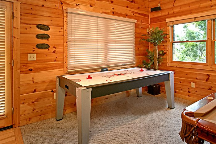 Cabin with Air Hockey Table - Sugar and Spice