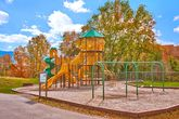 Cabin with resort pool, playground, picnic area