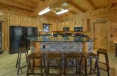 9 bedroom cabin with oversize kitchen