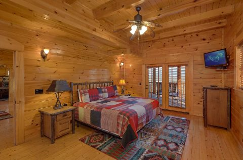 9 bedroom cabin with king bedrooms and Views - Summit View Lodge