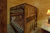 Queen bunkbeds for 4 guests in 9 bedroom cabin