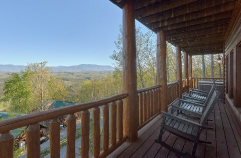 9 bedroom resort cabin with Mountain Views - Summit View Lodge