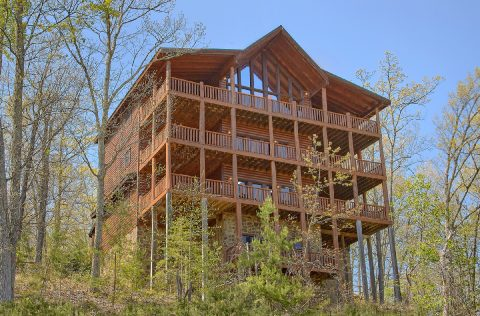 9 bedroom cabin with Views in Summit View Resort - Summit View Lodge