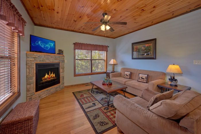Fully Furnished Living Area - Sundaze
