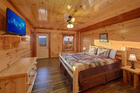 Cabin with a TV in Every Bedroom - Swimmin' In The Smokies