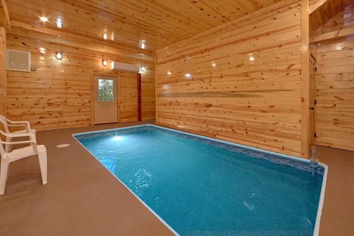 6 Bedroom Cabin with a Private Indoor Pool - Swimmin' In The Smokies