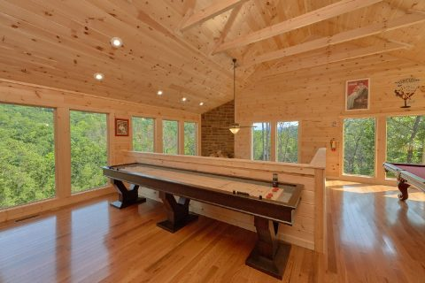 Large Loft Game Room 2 Bedroom Cabin Sleeps 6 - Swimming Hole
