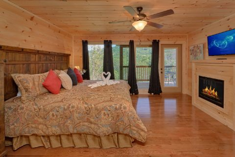 2 Bedroom Cabin with 2 Master Suites - Swimming Hole
