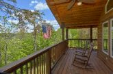 Spacious Deck with Wooded View Sleeps 4
