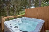 Private Hot Tub with Wooded View