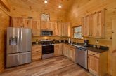 Honeymoon cabin with fully furnished kitchen