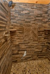 1 bedroom cabin with luxurious master bath