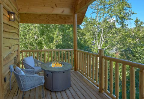 Premium Honeymoon Cabin with private hot tub - Tennessee Treehouse