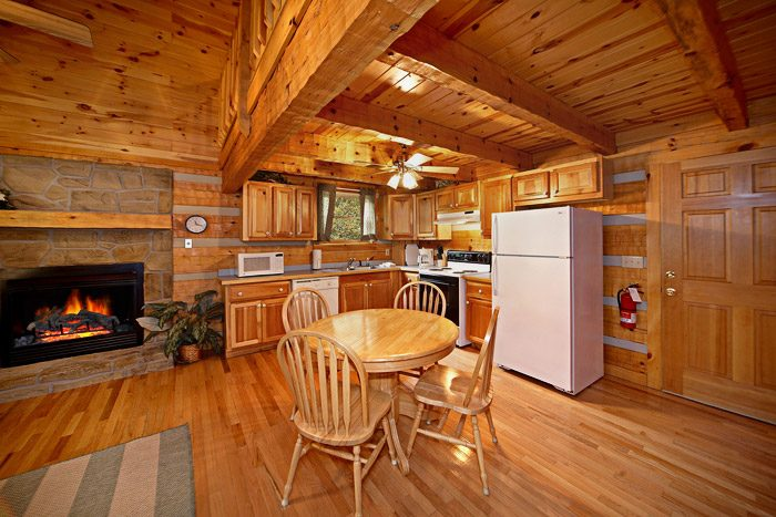 Cabin with Kitchen and Dining Table - That Away