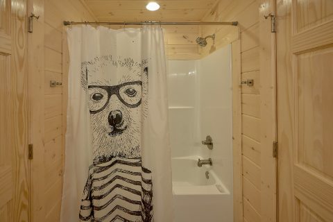 Full Bathroom with Shower - The Bear and Buck