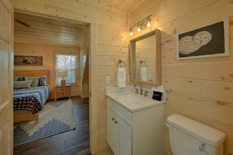 Upstairs Full Bathroom - The Bear and Buck