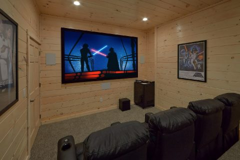 Large Theater Room Seating 10 - The Bear and Buck