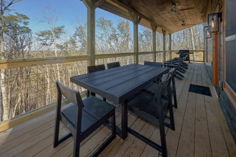 Large Deck with Outdoor Seating - The Bear and Buck