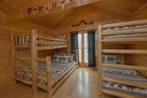 6 Bedroom with Kids Bunk Bed Room - The Big Cozy
