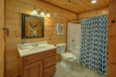 Luxurious cabin rental with 9 and a half baths
