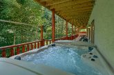 11 bedroom cabin rental with 2 hot tubs