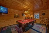 Large Game Room with Pool Table 4 Bedroom Cabin