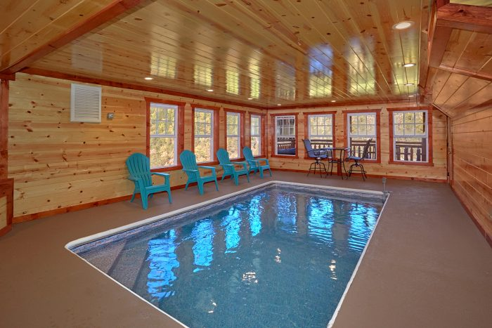 Indoor Pool 4 Bedroom Cabin Black Bear Resort - The Only TenISee