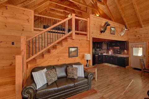 Luxurious 1 Bedroom Cabin Sleeps 4 - The Overlook