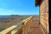 Spectacular Views 1 Bedroom Cabin Sleeps 4