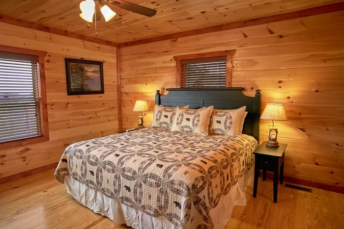 Pigeon Forge Cabin with Luxurious King Bedrooms - The Preserve