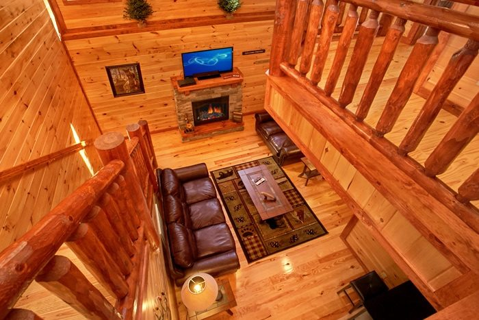 Pigeon Forge Premium Cabin with Three Floors - The Preserve