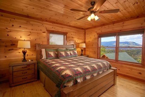 Smoky Mountain Cabin with Views from the Bedroom - The Preserve