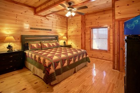 Smoky Mountain Six Bedroom Cabin - The Preserve